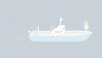 Sound signals of a vessel engaged in fishing in restricted visibility
