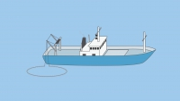 A vessel engaged in fishing, other than trawling - shapes